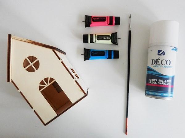 DIY : Maison veilleuse