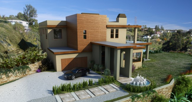 Pin hermoso terreno en venta quito s 20000 contacto on for Casa minimalista quito