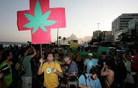 Rio se prepara para a Marcha da Maconha 2012.