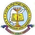 Dr BR Ambedkar Open University PG hall ticket 2013