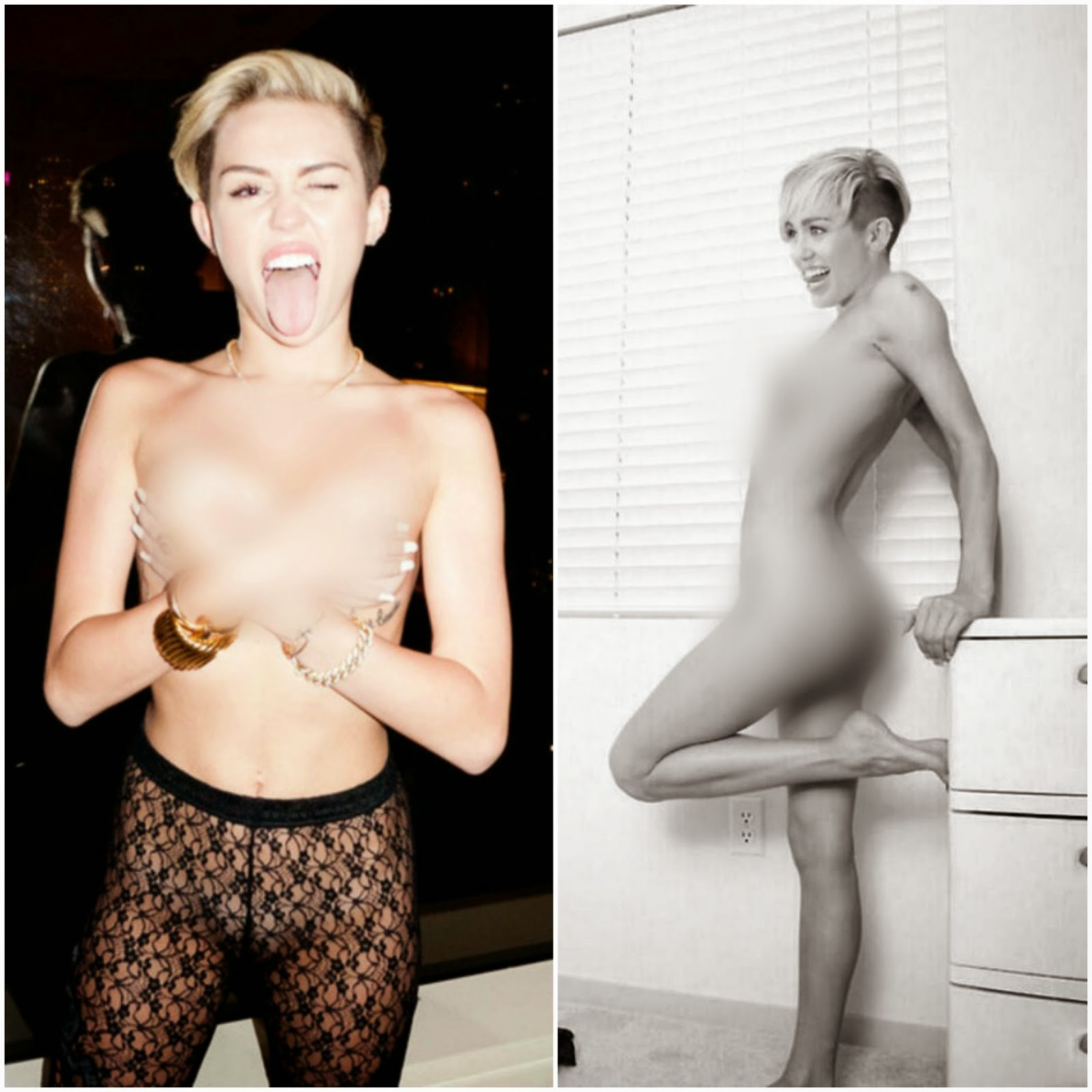 Miley Cyrus Leaked Nude Photos