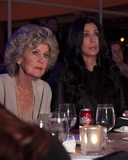 Cher and mom Georgia Holt at the event