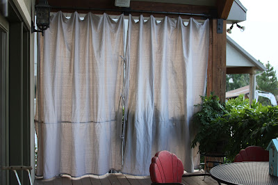 Time of Our Lives: Canvas Outdoor Curtains