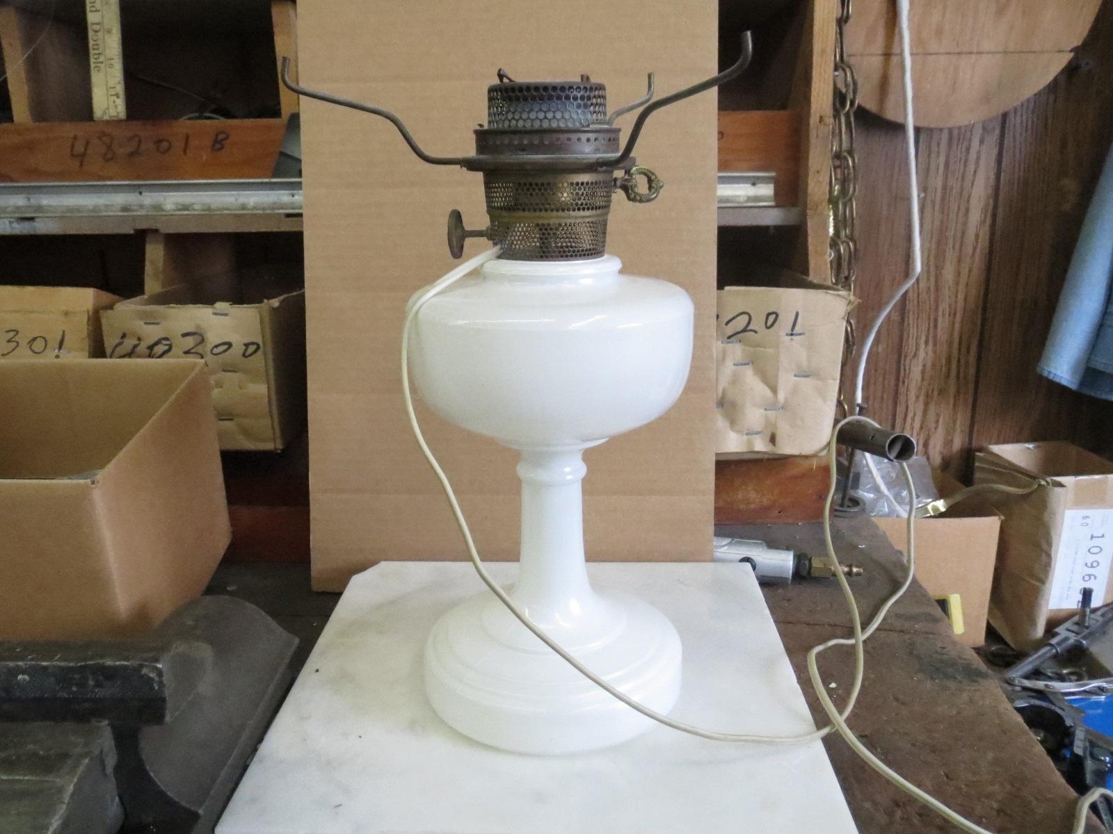 Lamp Parts and Repair   Lamp Doctor: Opal Electric Aladdin Lamp Repair