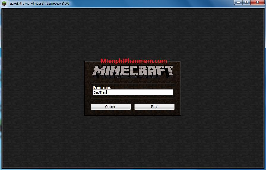 Minecraf 1.7.2 bản cài đặt .exe Offline