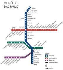 Calcular rota de trem e metrô em São Paulo