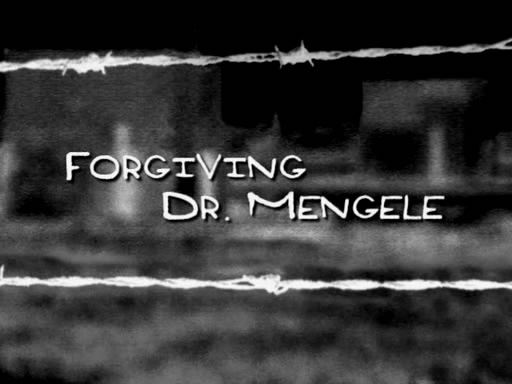 forgiving dr mengele The last nazi: the life and times of dr joseph mengele isbn-13 : 9780917657467 book  forgiving dr mengele, dvd, eva mozes kor, cheri pugh, bob hercules.