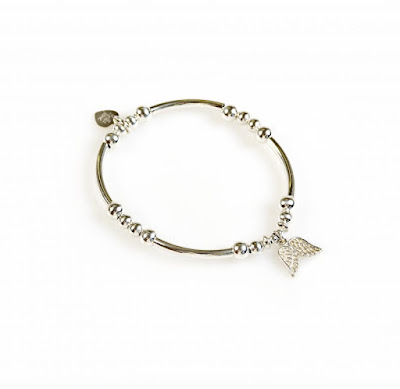 My Midlife Fashion, Bella Jane Jewellery Eternal Angel Wing Bracelet