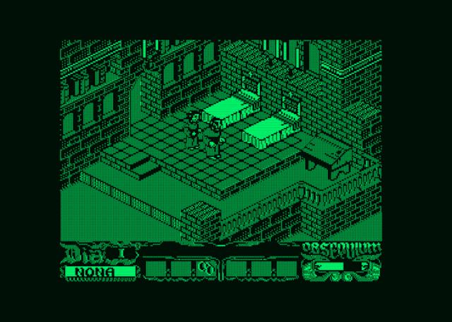 Nueva actualización de La Abadía del Crimen para Amstrad PCW