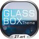 Download Theme Android GlassBOX Theme GO LauncherEX APK