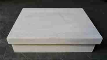 pinte de branco a caixa de mdf