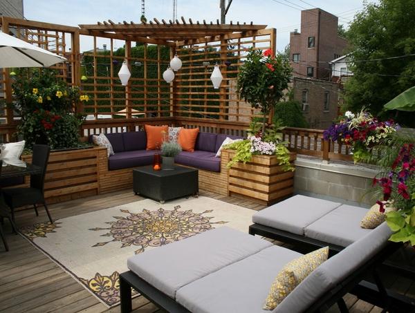 Ide Desain Ruang Tamu Outdoor