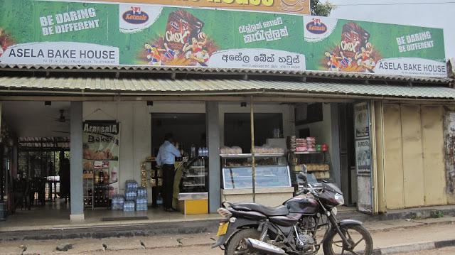 Tienda de alimentación en Sri Lanka