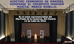 12.07.16 HOMENAJE AL CERA- MISTA MARCIAL MARCO Y A TODOS LOS CERAMISTAS