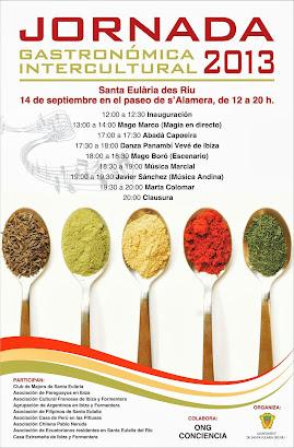 Jornada Gastrónomica Intercultural 2013