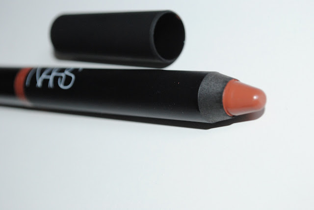 Nars Velvet Gloss Lip Pencil in shade More.