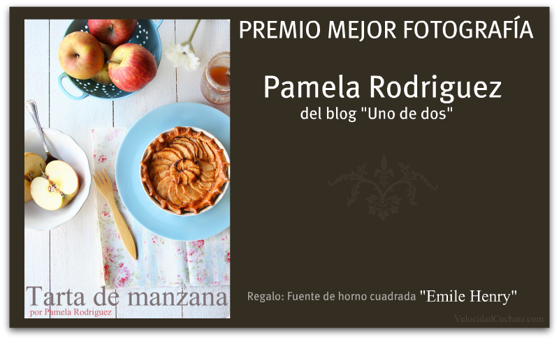 Premio Mejor fotografía para Pamela Rodriguez - VelocidadCuchara.com