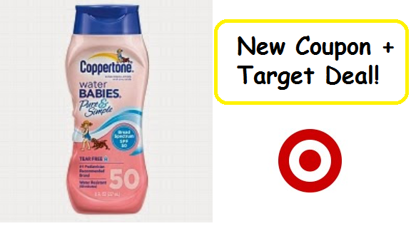 New Coupon: $3/2 Coppertone + Target Deal