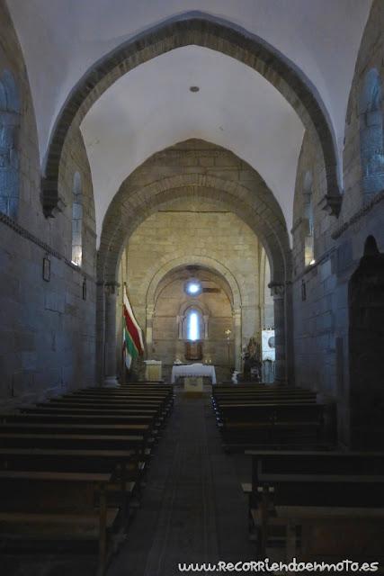 Interior monasterio de Sta Marta de Tera