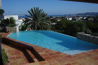 Pavimentos exteriores de piscinas