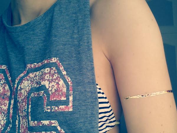 J'ai testé...les tatouages éphémères Sioou pour l'été !