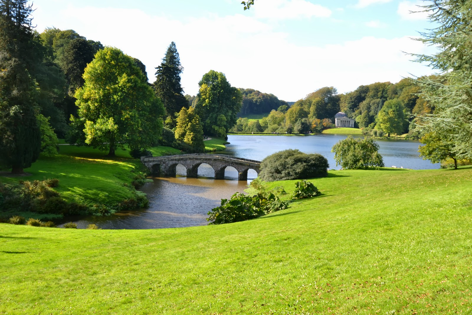 These Heavenly Hours A Visit To Stourhead Gardens The