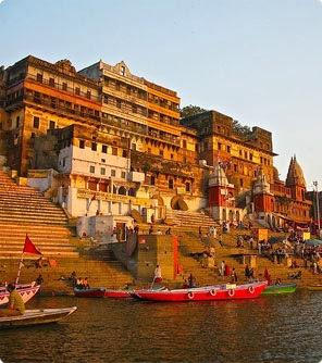 Morning along the River Ganga