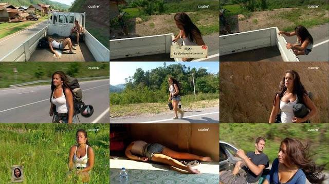 María Rocinau De Pekín Express Video Con Colosal Poderio De Tetamen