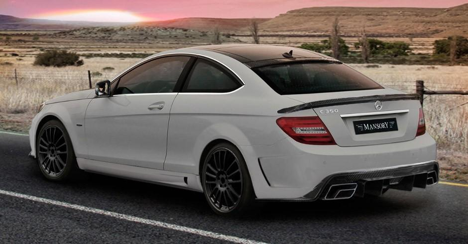 Mercedes C Class Coupe By Mansory Car Tuning Styling