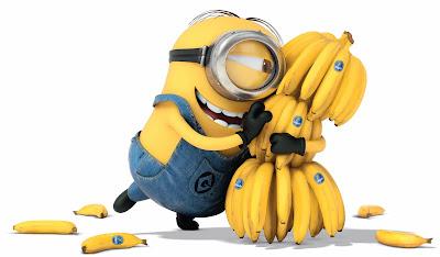 minion y sus bananas