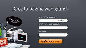 Cómo crear web gratis en 7 minutos