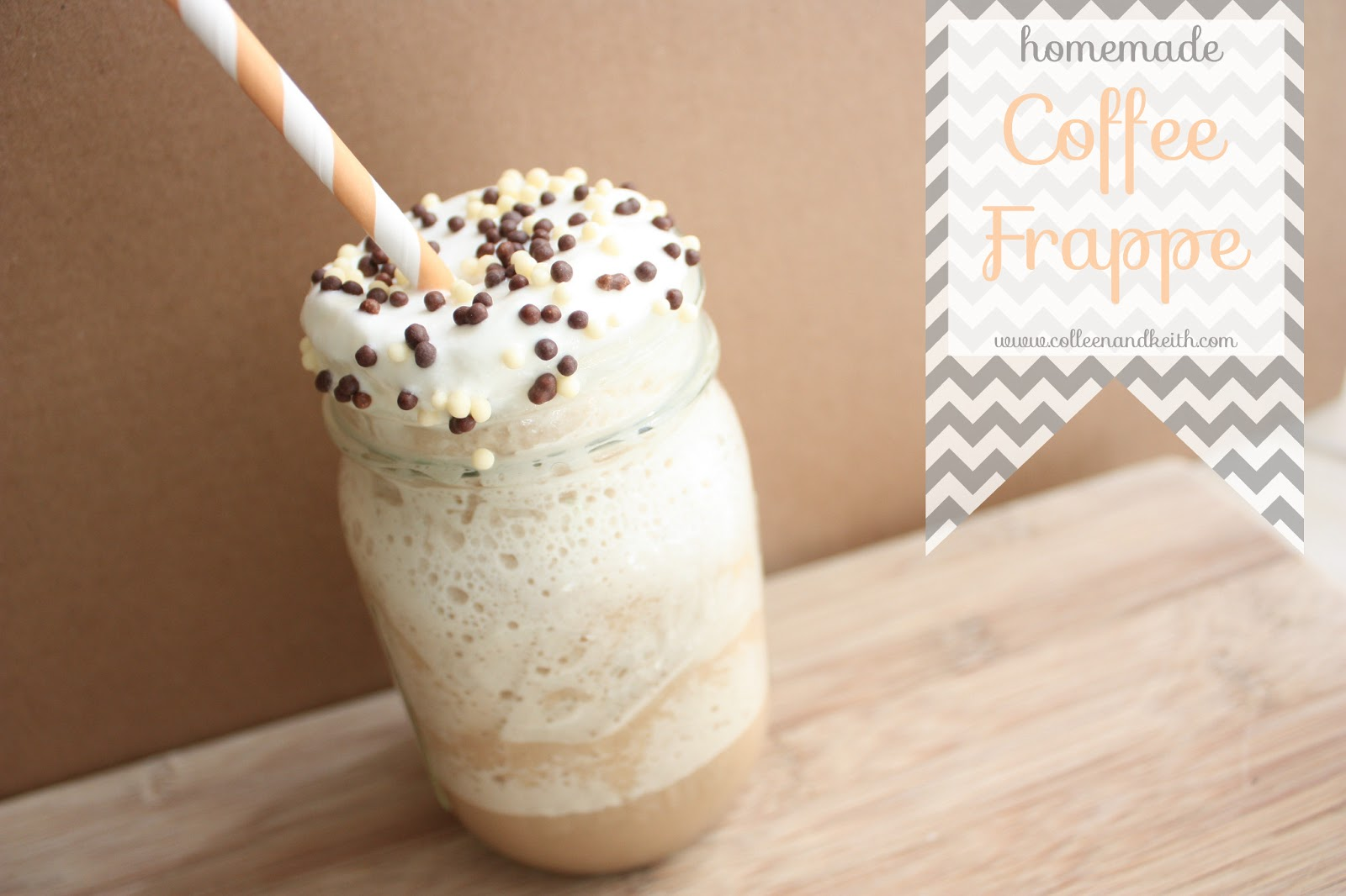 Meet the Sullivans: Thirsty Thursday: Homemade Coffee Frappe