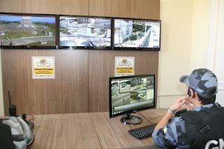 Câmeras de segurança agora monitoram o Centro Histórico de Laguna