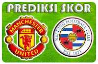 Prediksi Skor Manchester United vs Reading 19 Februari 2013