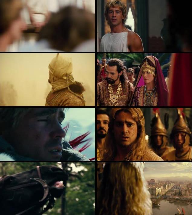 Alexander 2004 Dual Audio Hindi 480p BRRip 450mb