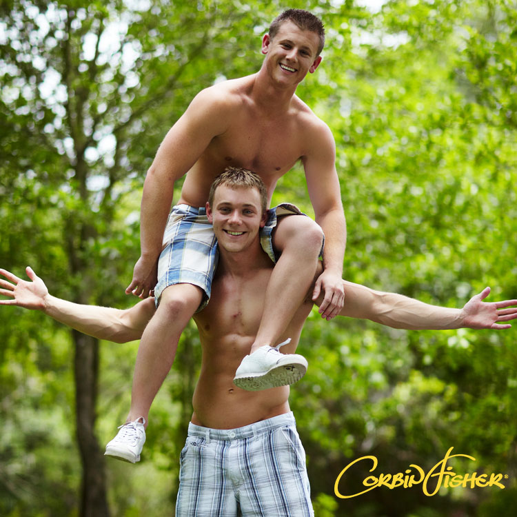 Hombres gays al aire libre