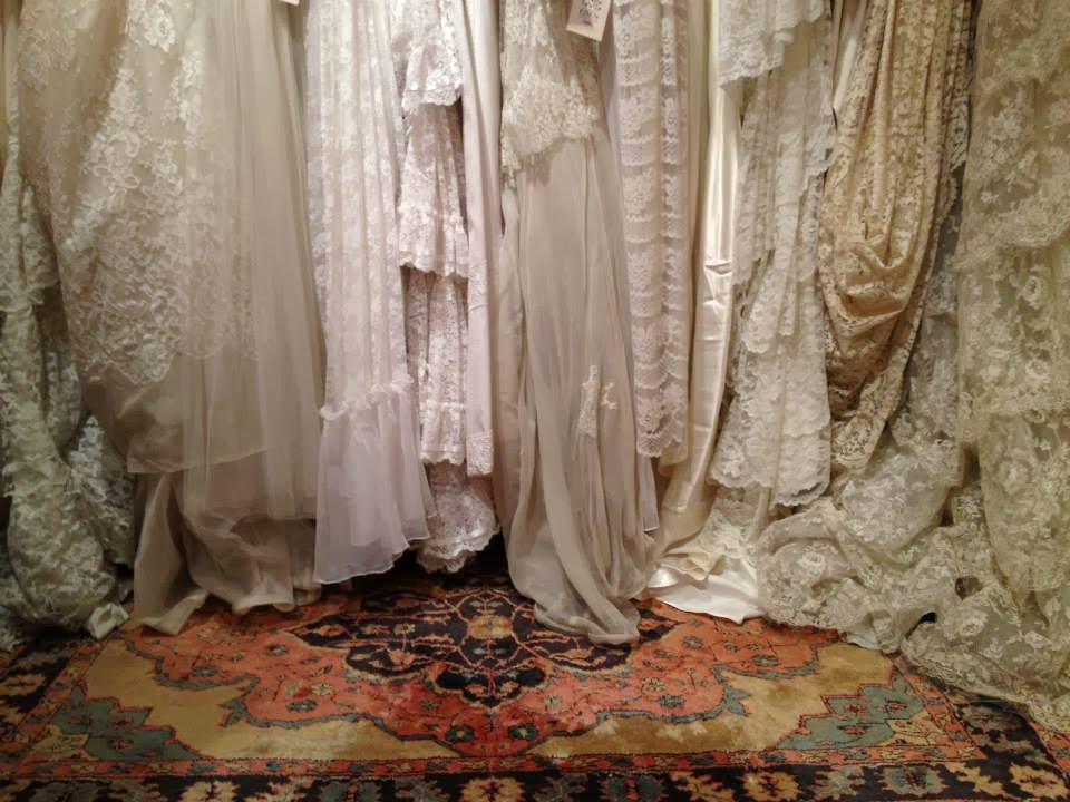Vintage Style Wedding Dresses Portland : Plucky maidens finally a vintage bridal show in fabulous