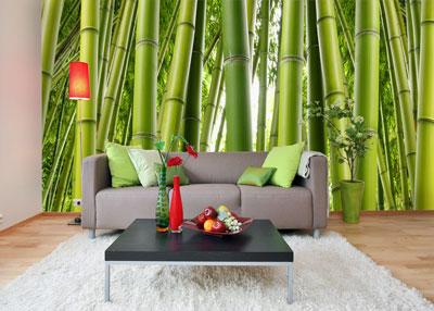 Bamboo Mural
