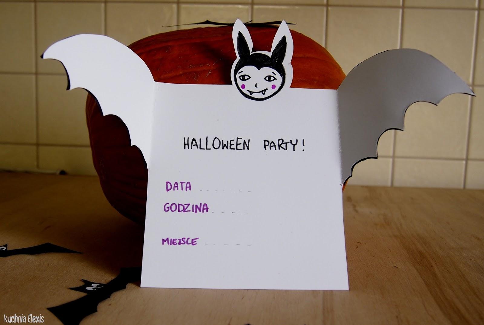 Inspiracje Na Halloween Cz 2 Słomki Nietoperze Krwawe Drinki I