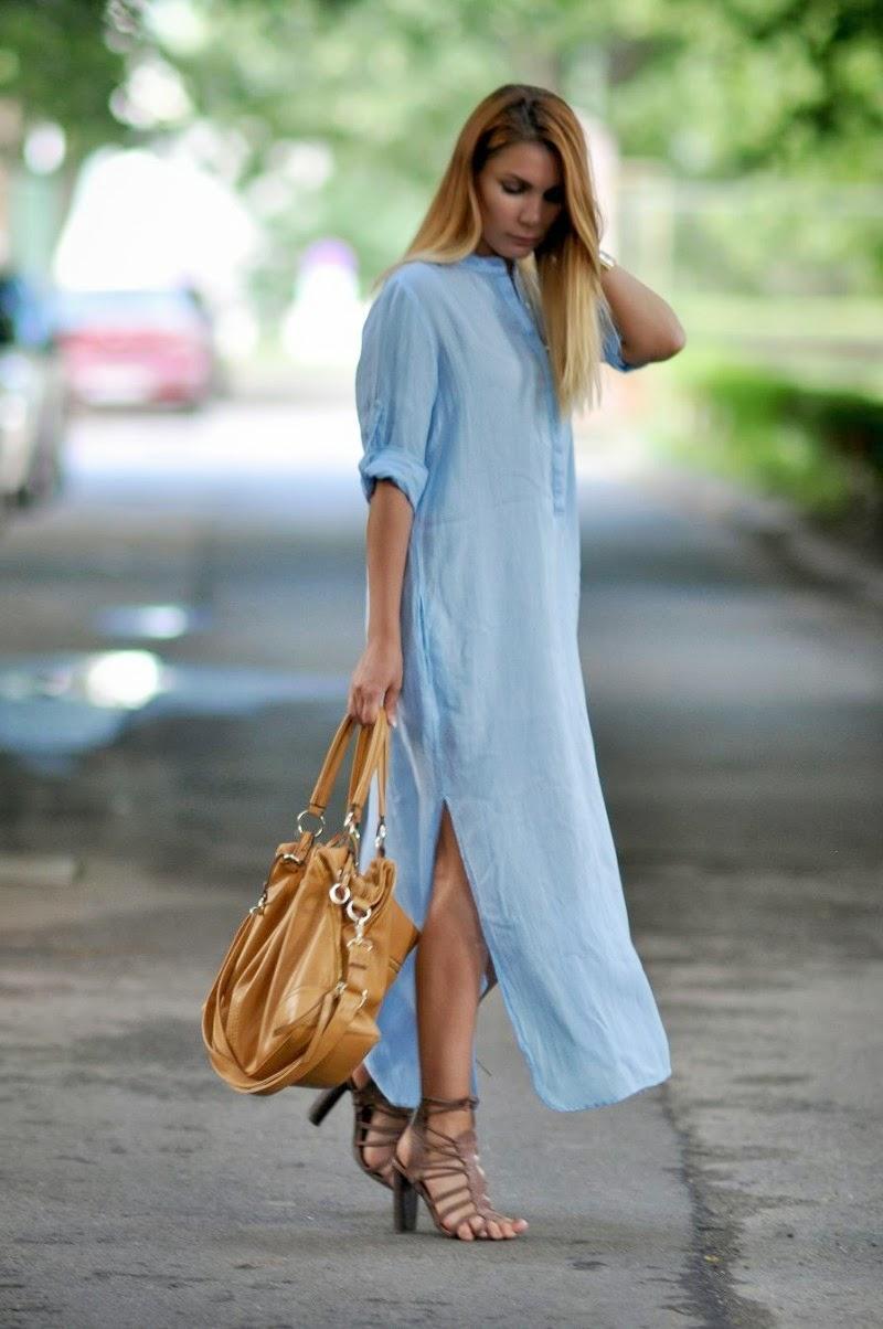 Simona mar maxi shirt dress for Is a tunic a dress or a shirt
