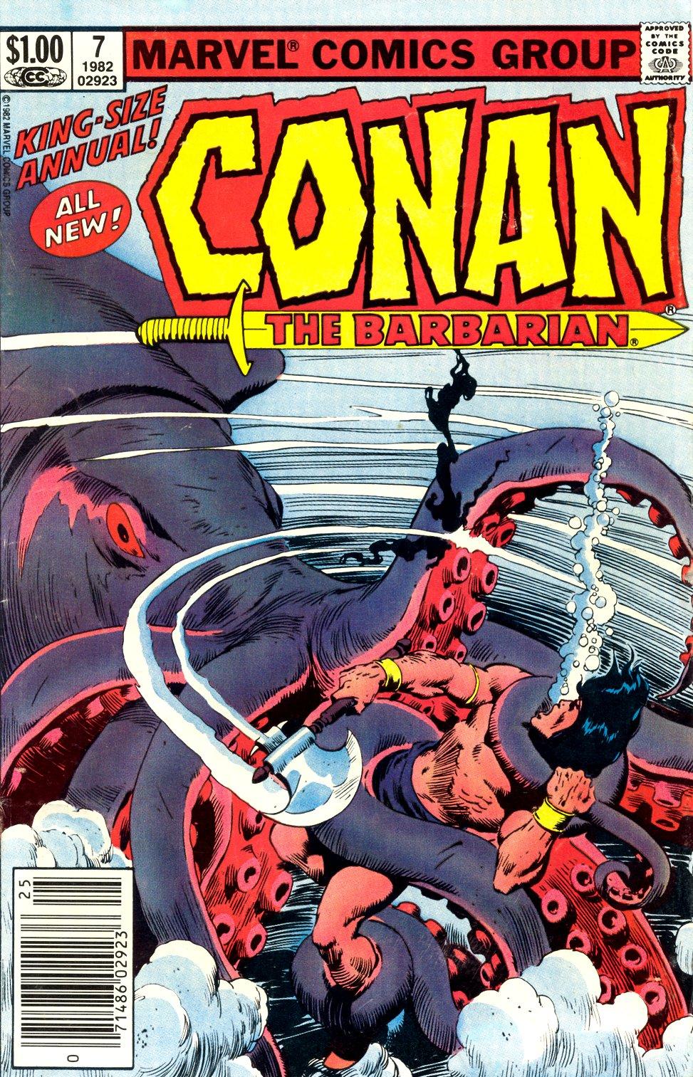 Conan the Barbarian (1970) Annual_7 Page 1
