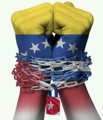 VENEZUELA HA SIDO COMPLETAMENTE ENCADENADA POR EL COMUNISMO