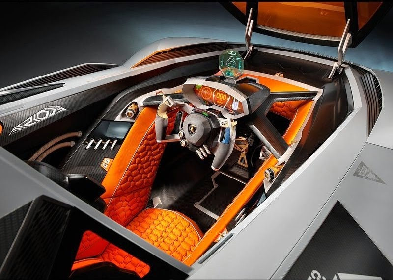 Thus Lamborghini dashing Egoista