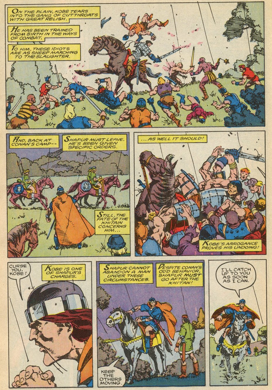 Conan the Barbarian (1970) Issue #195 #207 - English 13
