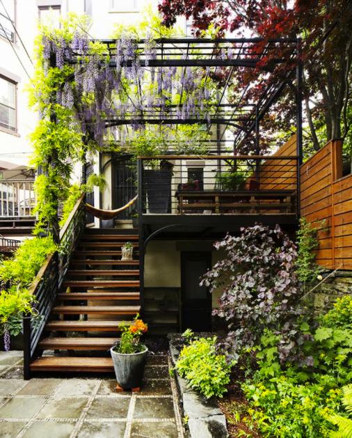 Jardu00edn a doble altura ~ Garden Design GD