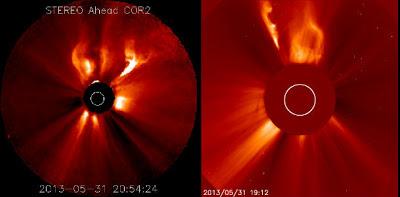 LLAMARADA SOLAR CLASE M1.0. EL 31 DE MAYO DE 2013