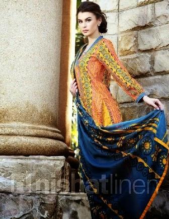 NISHAT Linen Lawn Salwar Suits