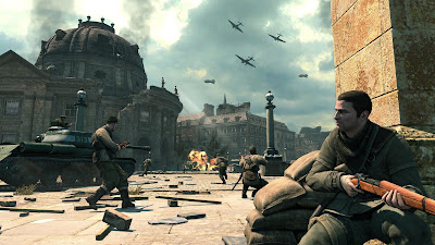Sniper Elite V2 gameplay