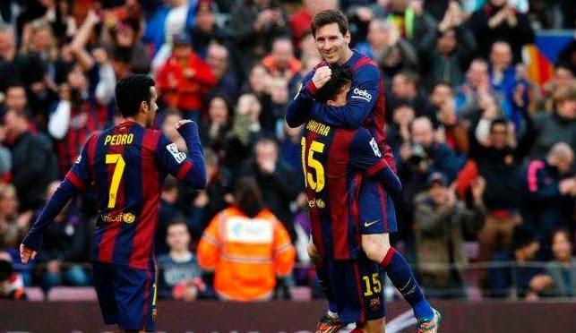 Pertandingan Levante vs Barcelona