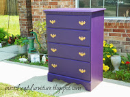 Royal Purple Dresser